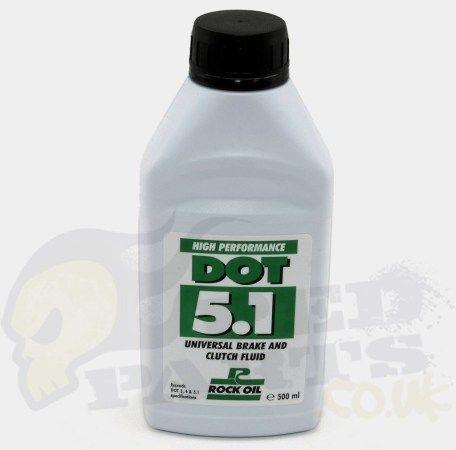 DOT 5.1 Brake and Clutch Fluid- Rock Oil