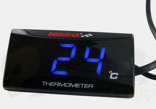 Koso Slim Digital Temperature Gauge