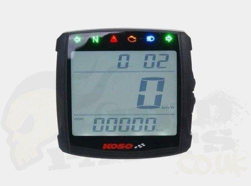 Koso XR-S01 Digital LCD Speedometer