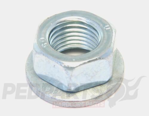 M12 Pulley/ Crank/ Clutch Nut- Piaggio/ Gilera