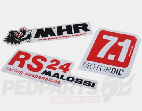 Malossi MHR Stickers